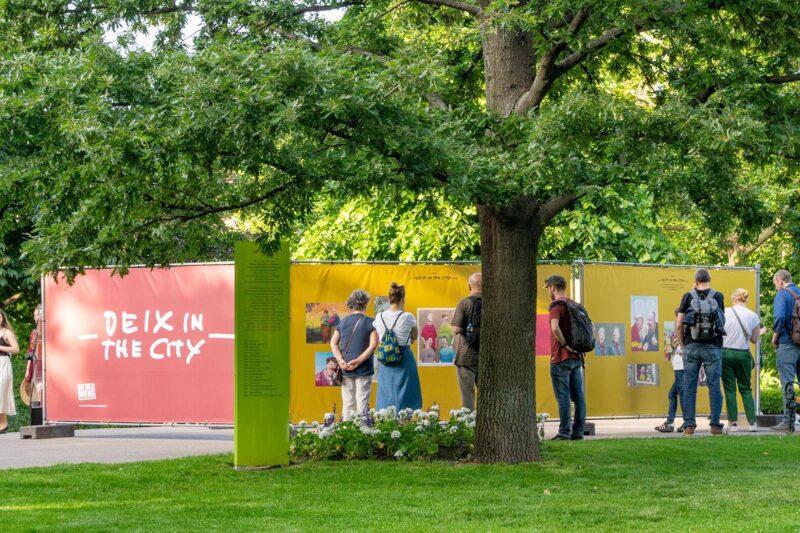 Ausstellungsansicht Deix in the City